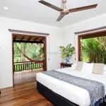 Botanical Ark Retreat master bedroom