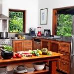 Botanical Ark Retreat kitchen