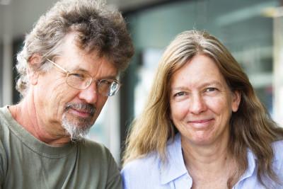 Alan and Susan Carle, a portrait